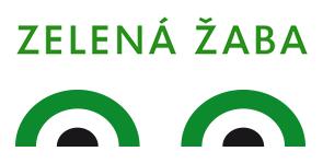 Zelená žaba