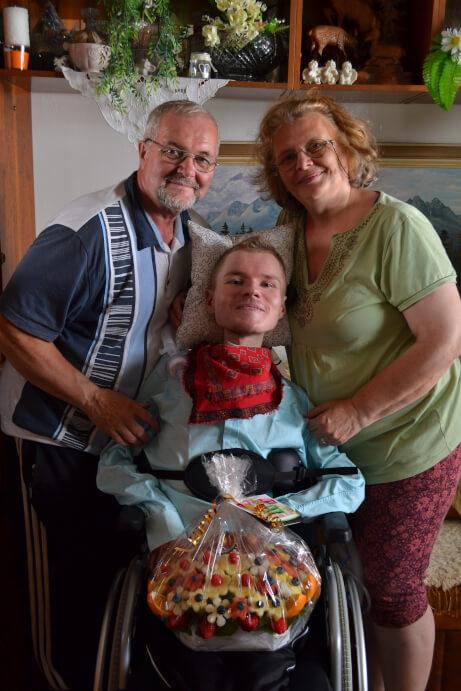 Ivan Brádňanský a rodina