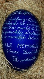Vyškrabavané vajce ALS beh